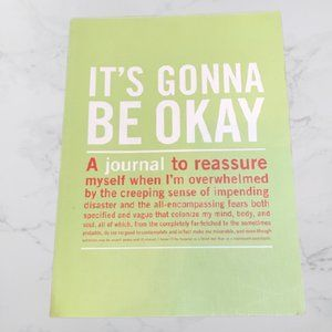 It's Gonna Be Okay writing journal, New